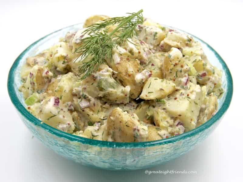 Potato Salad with Fresh Dill - Great Eight Friends