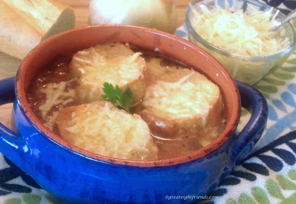 french onion soup in french how to say