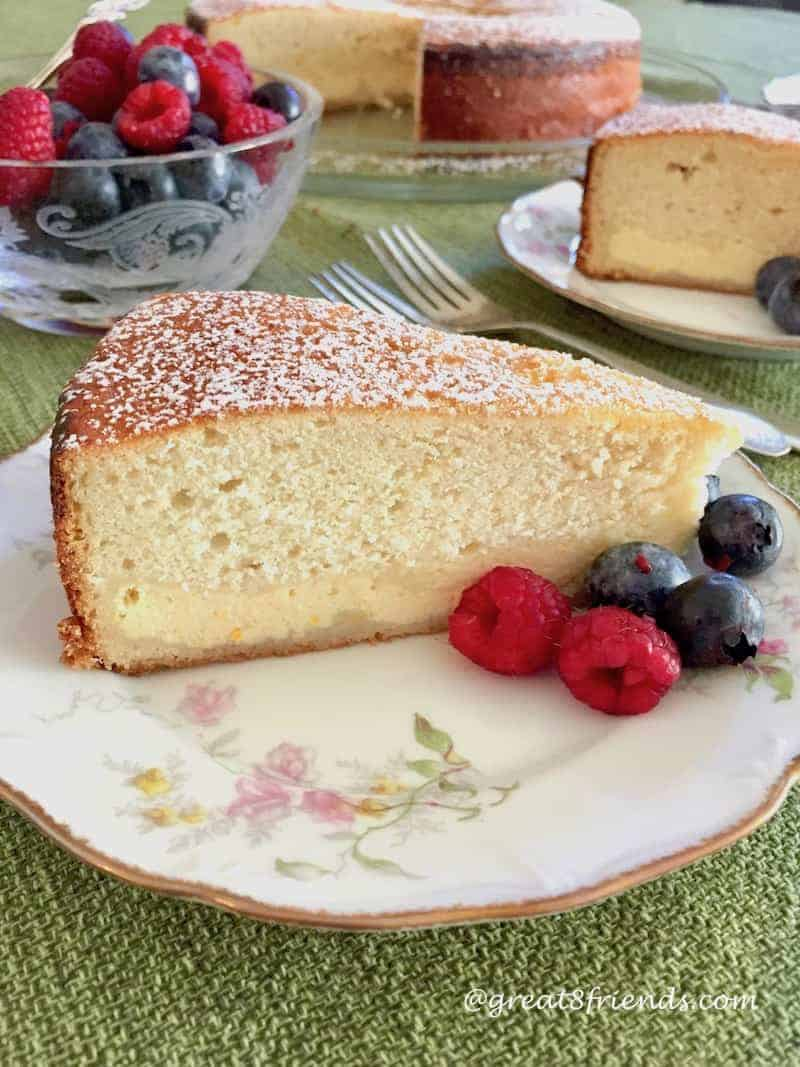Baked Italian Ricotta Cake - Great Eight Friends