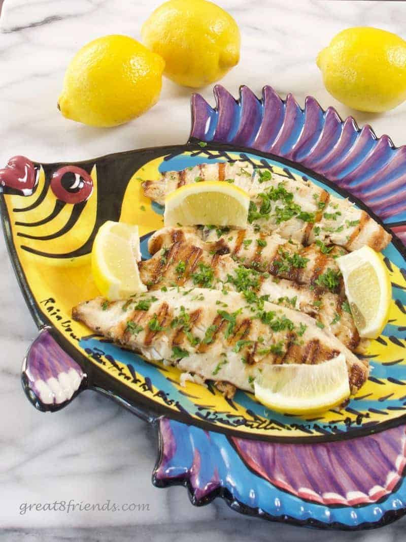 The best way to cook fresh fish great eight friends for Best fish to bake